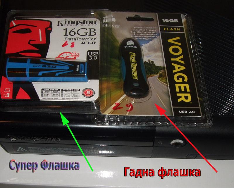 Супер флашка и бавна флашка