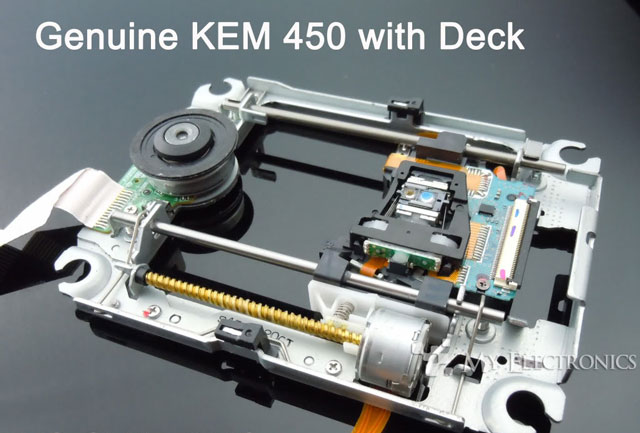 laser lens kem 450a