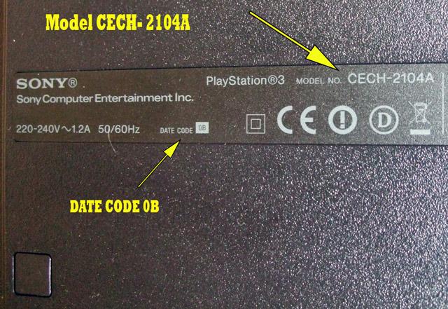 date code PS3 mod