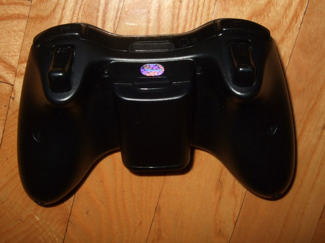 gamepad rear