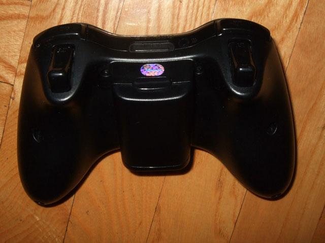 gamepad rear